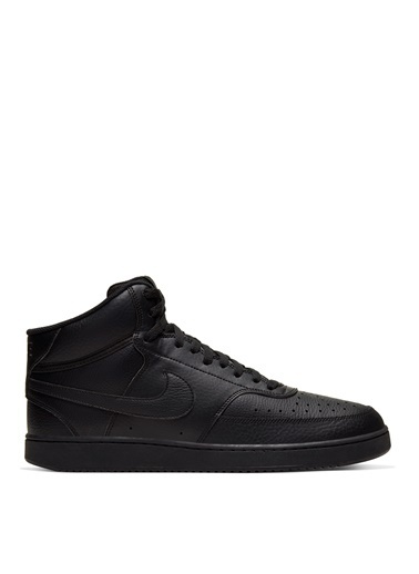 Nike Nike Court Vision Mid Erkek Lifestyle Ayakkabı Siyah